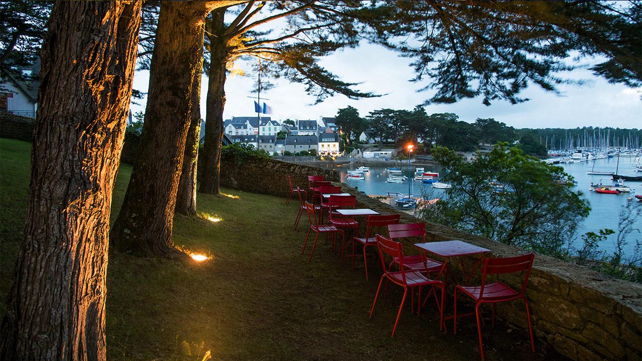 Le jardin villa trimen for Restaurant le jardin vias
